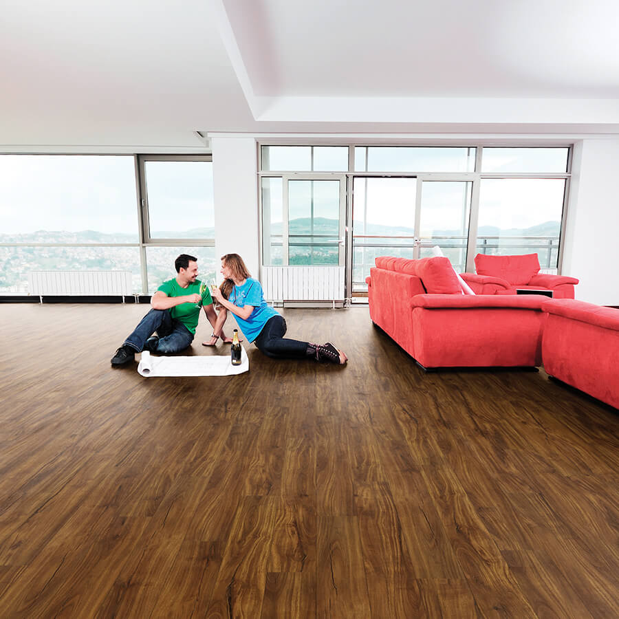 20mil waterproof flooring Caceres Acacia Room