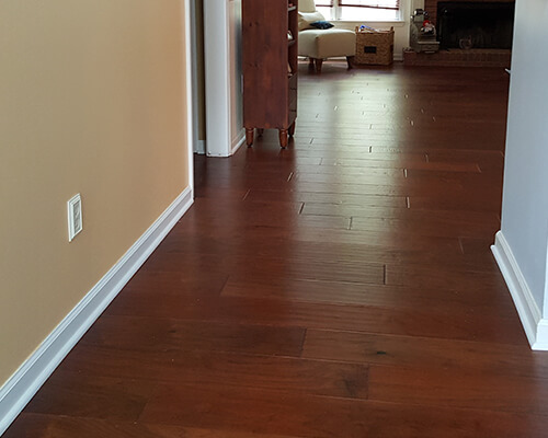 Chaparral Walnut Cinch installation
