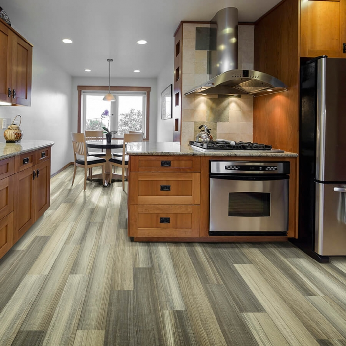 12mil waterproof flooring charleston oak by Hallmark Floors
