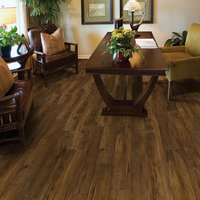 Product Lexington Pecan 12Mil Waterproof Flooring   Town & Country