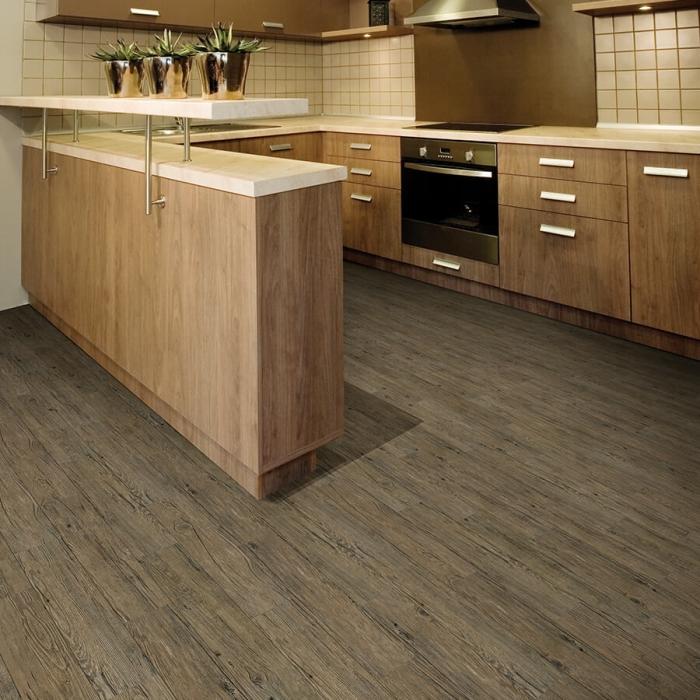 12mil waterproof flooring smoky mountain pine