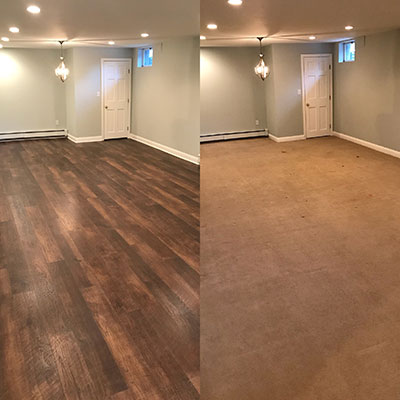 B & D House of Carpet Courtier Baroness install