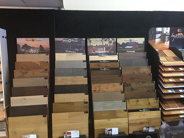 Eastern Hallmark Floors Hardwood Display At Their Showroom In Newport News Va