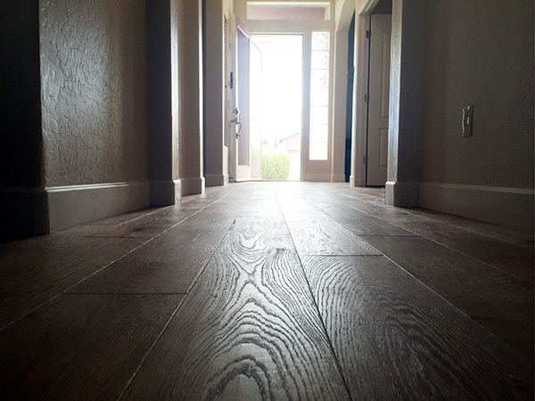 Excalibur installation featuring texture of Hallmark Floors Oak