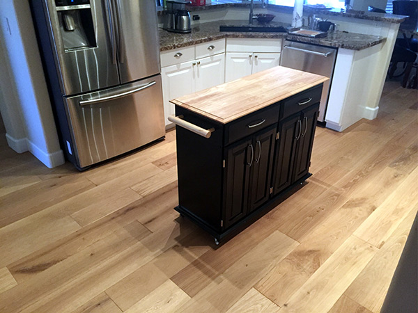 Excalibur kitchen featuring Hallmark Floors installation