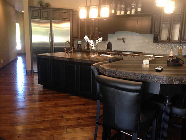 Excalibur kitchen installation featuring Hallmark Floors in Mesa AZ
