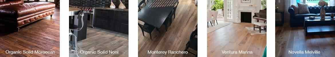 Installations Photos of Hallmark Floors' Products