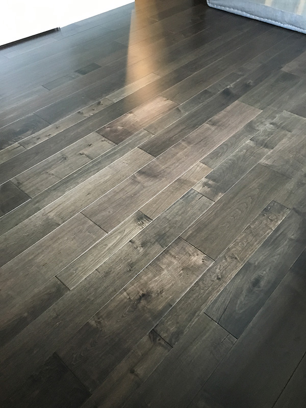 monterey baccarra installation by B & D House of Carpet