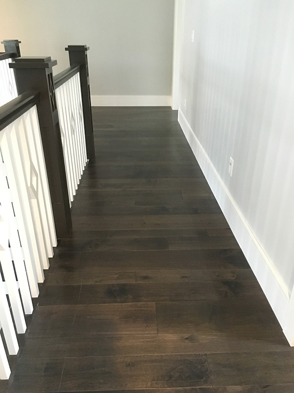 monterey baccarra landing installation by B & D House of Carpet