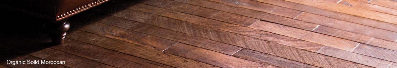 Photo Portfolio banner of Moroccan Organic Solid wood floors.