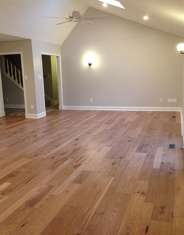 Creative Flooring & Design Monterey Ranchero Home installation in New Bern NC