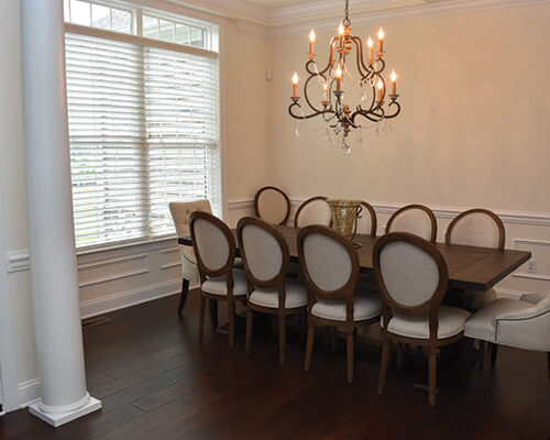 chaparral sagebrush dining room installation