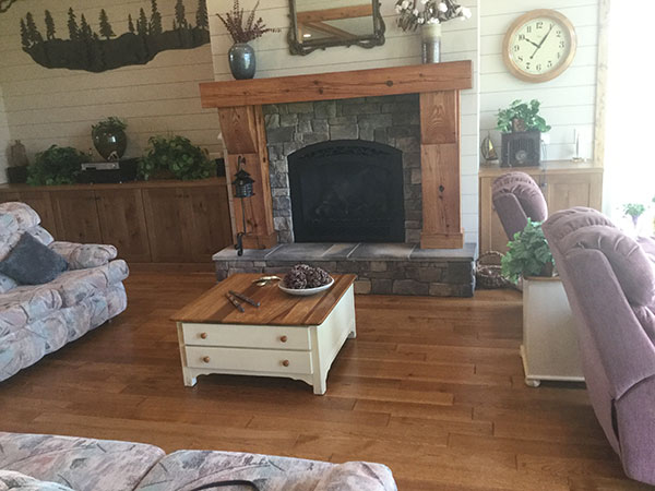Chaparral Tackroom living room install by kempsville