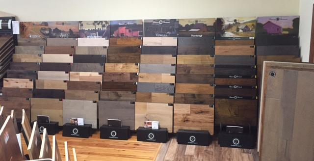 Full Hallmark Floors Display