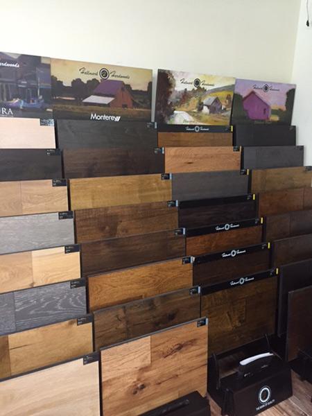 Hardwood Flooring Display