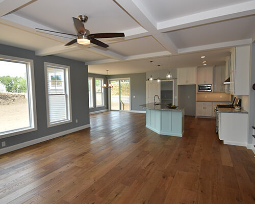 Why choose wide wood planks hardwood flooring for Is it ok to put hardwood floors in a kitchen