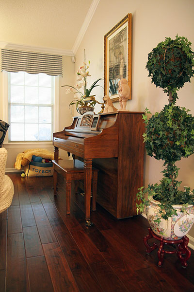 Chaparral piano installation by Mercury Carpet