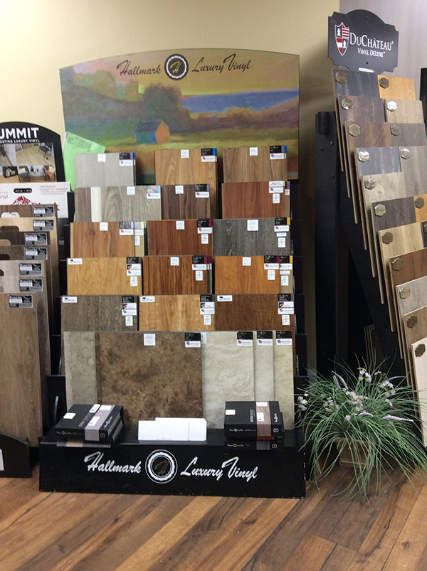 IMercury-Carpet and Flooring LVT display