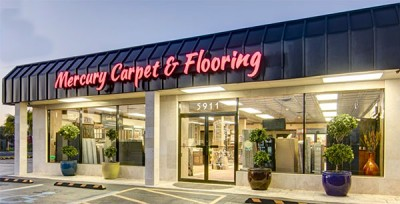 Mercury Carpet and Flooring storefront