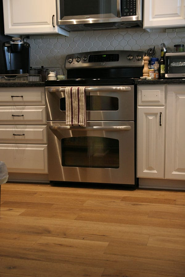 Mercury Hallmark Flooring kitchen install