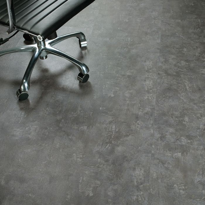 Madison, Stone Concrete from the Times Square Dry Back Commercial Flooring by Hallmark Floors.