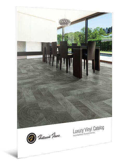 All of Hallmark Floors' luxury vinyl flooring and premium rigid flooring products brochure.