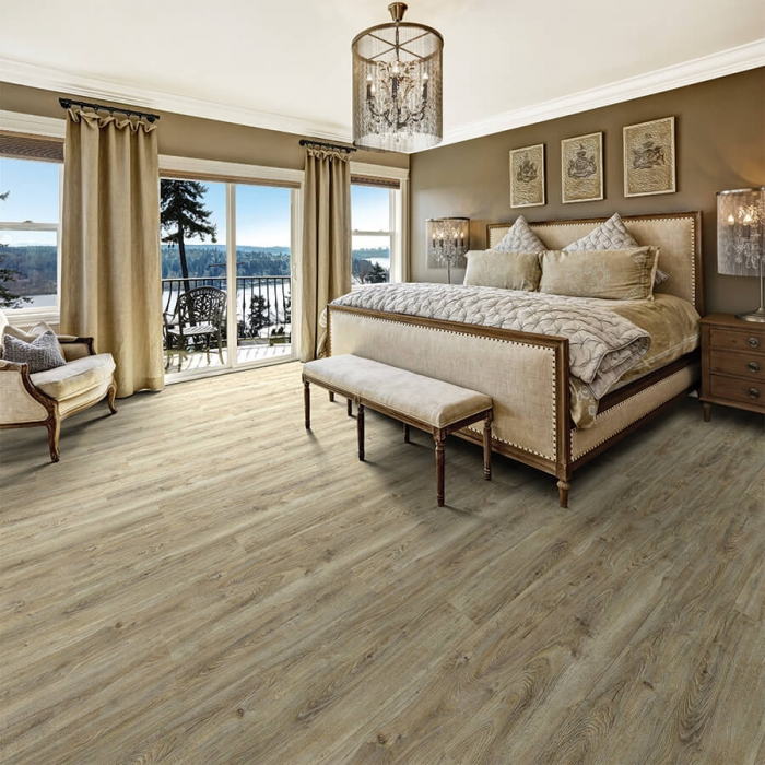 Product Courtier Archduke Oak Bedroom installation by Hallmark Floors