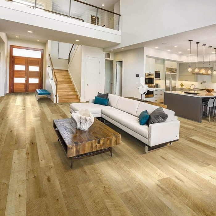 Product Courtier Esquire Maple Living Room Installation by by Hallmark Floors