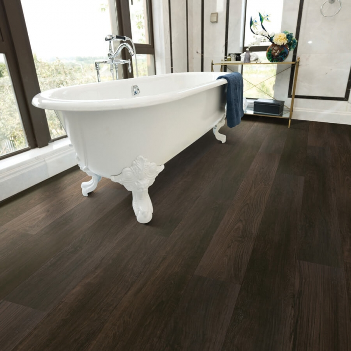 Product Courtier Margrave Teak Bathroom installation by Hallmark Floors
