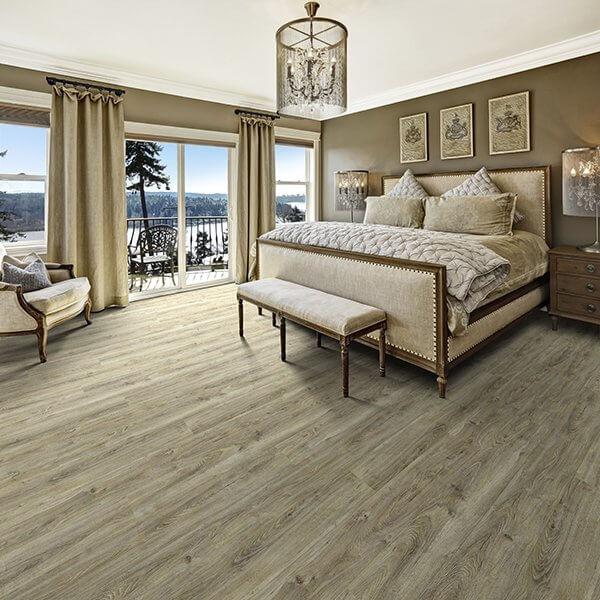 Courtier Premium Vinyl Plank Flooring, Archduke, Oak,