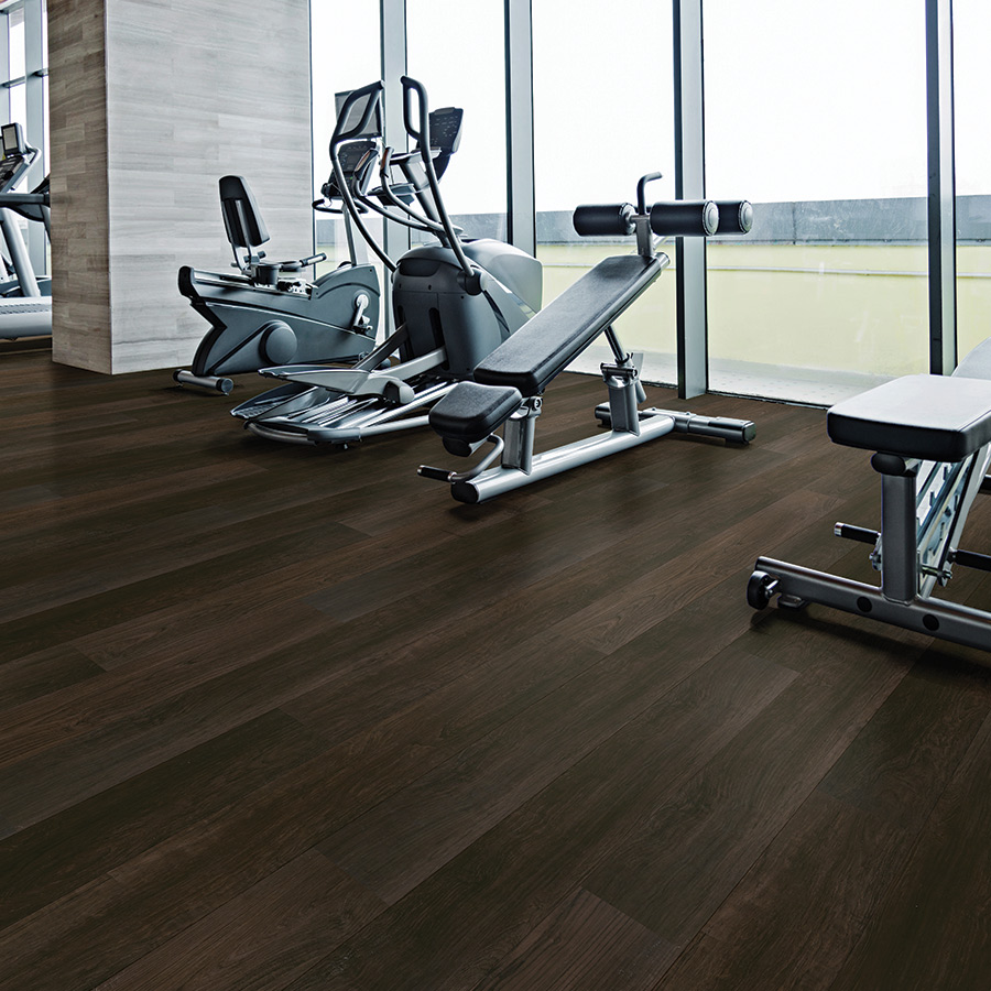 Product Courtier Margrave Teak Commercially Rated Flooring by Hallmark Floors