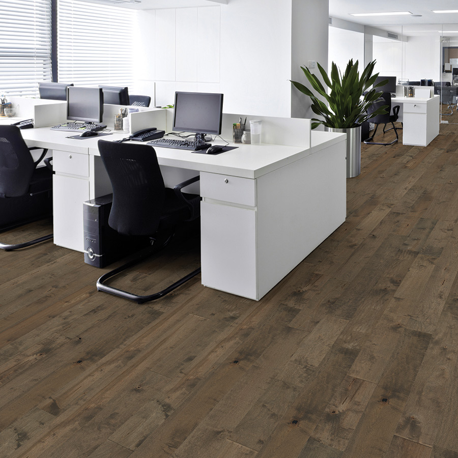 Moderno commercial flooring by hallmark commercial for Commercial hardwood flooring
