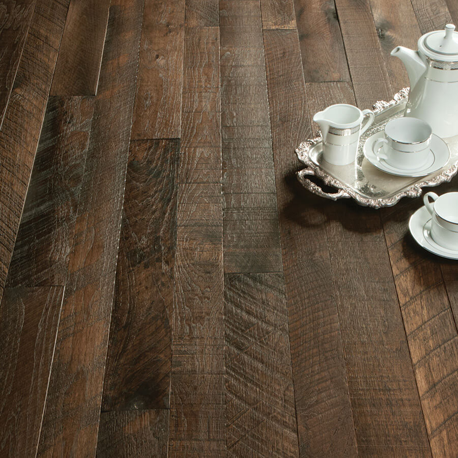 Organic hardwood collection for floors walls and ceilings organic solid clove hickory dailygadgetfo Gallery
