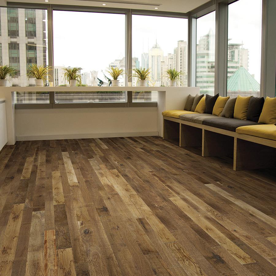 Masala Oak Hardwood flooring from the Organic hardwood flooring collection by Hallmark Floors