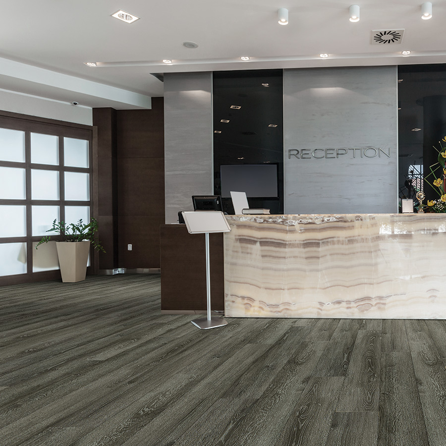 Sierra Madre Commercial Luxury Vinyl Flooring Hallmark