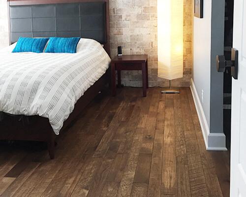 Organic Tulsi installation by classic floorinh