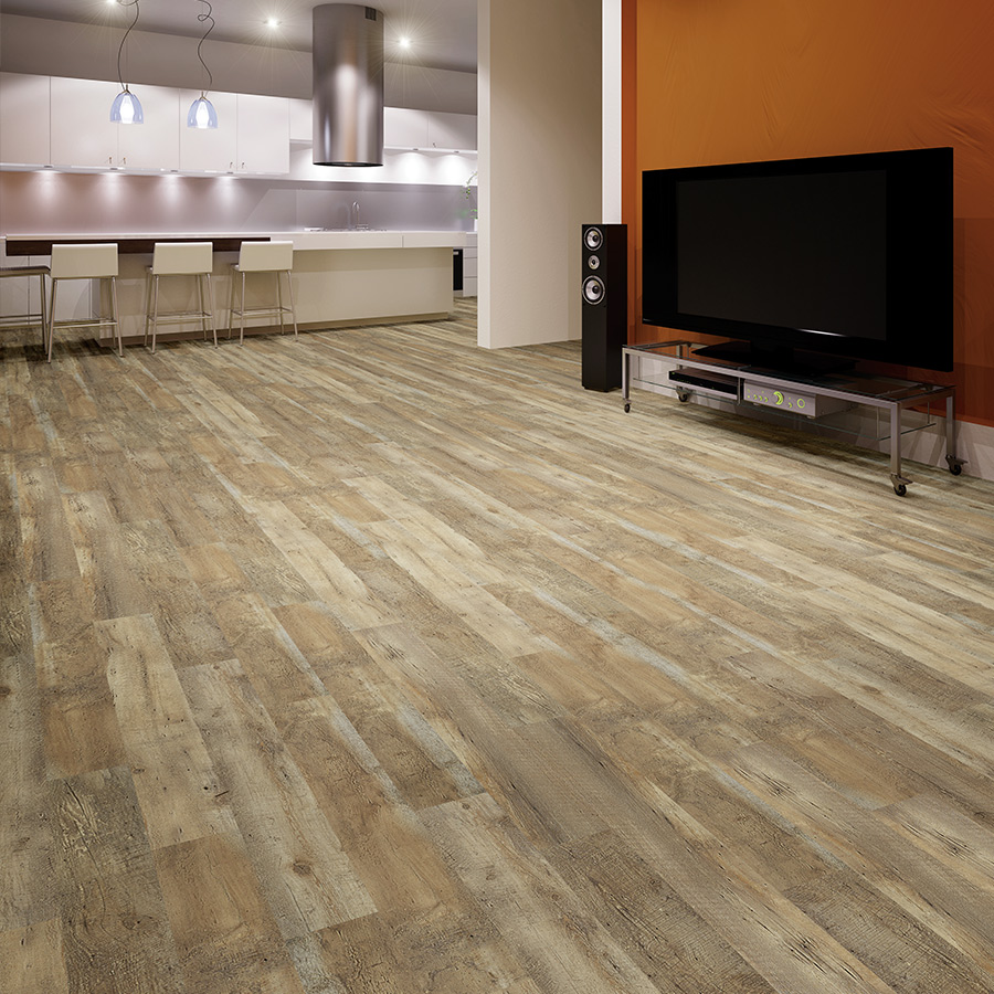 castle and cottage chiminade oak roomscene - Wood Vinyl Flooring