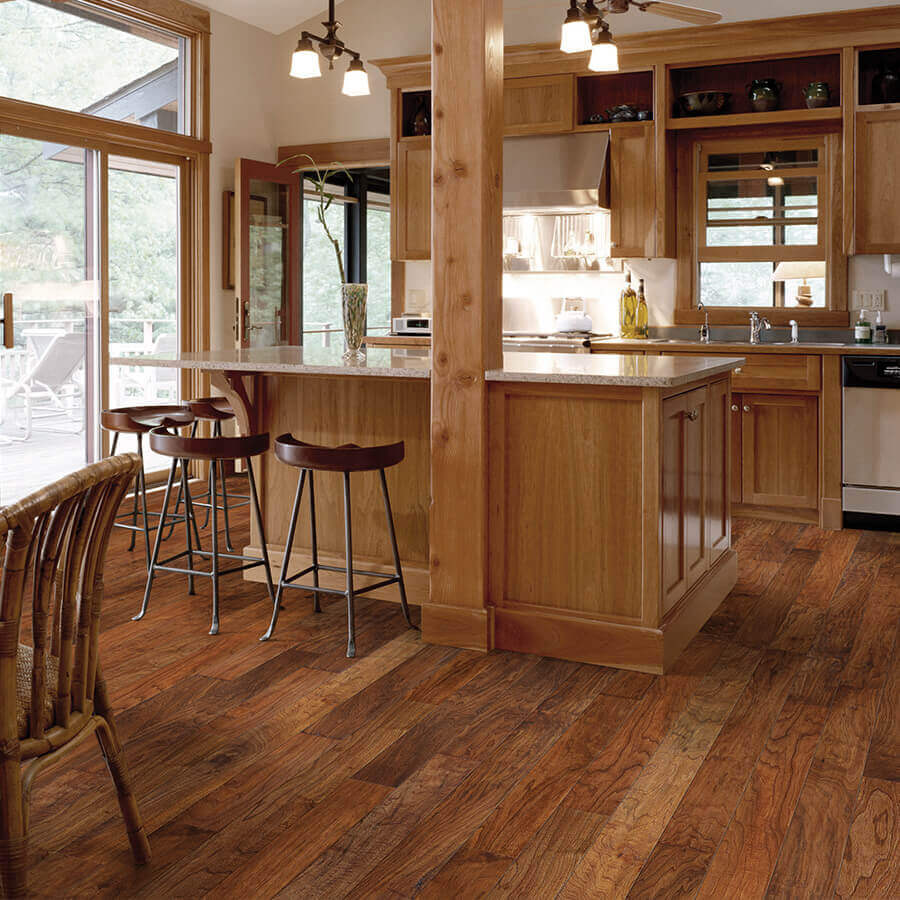 Chaparral Cinch Walnut Roomscene - Chaparral Hardwood Collection By Hallmark Floors