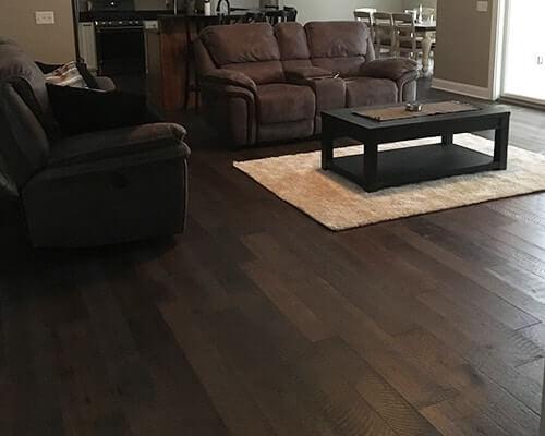 Darjeeling living room install williamson NY
