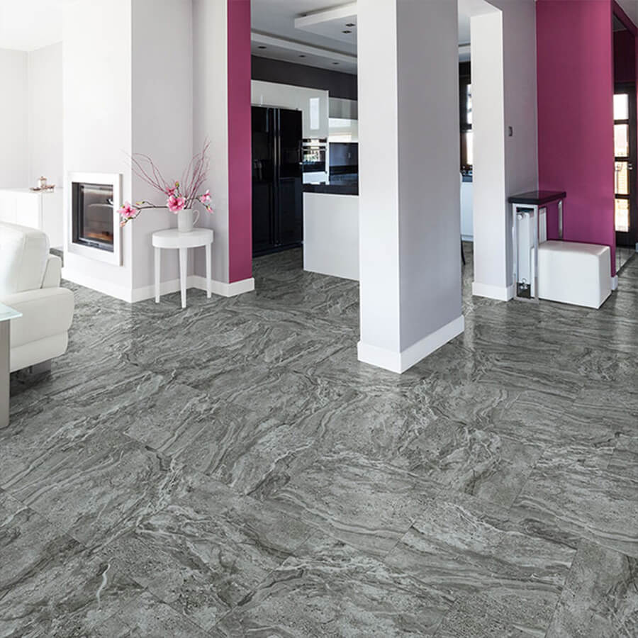 Hermosa stone luxury vinyl flooring is beautiful real for Luxury floor