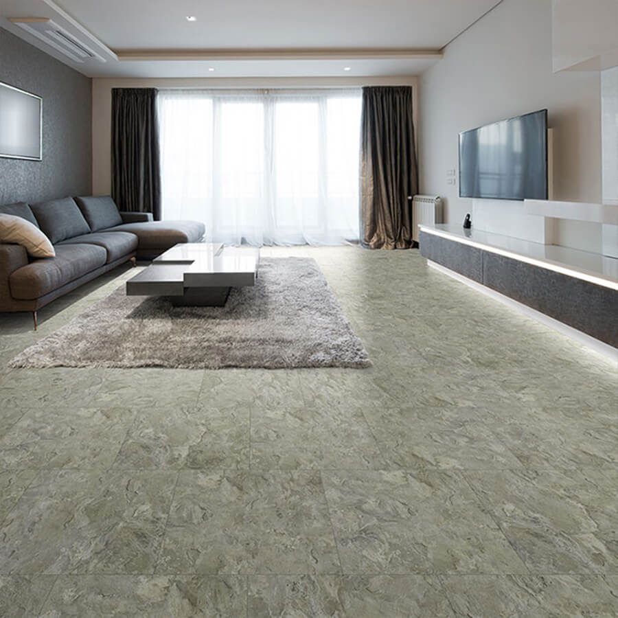 Hermosa stone luxury vinyl flooring is beautiful real for Luxury linoleum flooring