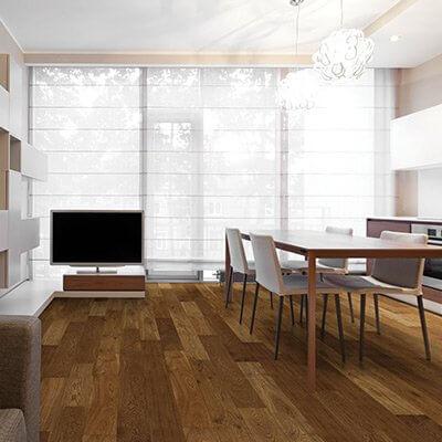 Moderno Sagamore Oak Roomscene