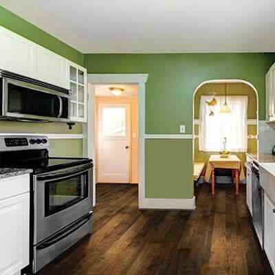 Monterey Casita Hickory Roomscene