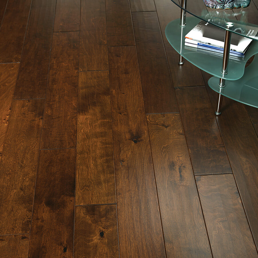 Good Birch Wood Floor #9: Silverado Mink Birch Vignette