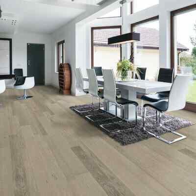Terreno- white oak residential roomscene