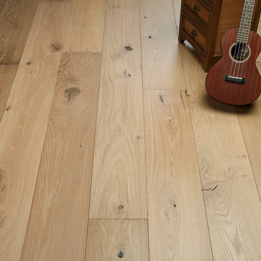 Ventura Marina Oak Vignette - Ventura Hardwood Floors Collection With Our NuOil Finish