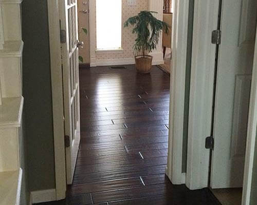 Heirloom Bootstrap Hallway Installation