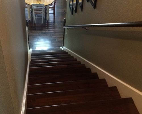Heirloom Bootstrap Stair Installation