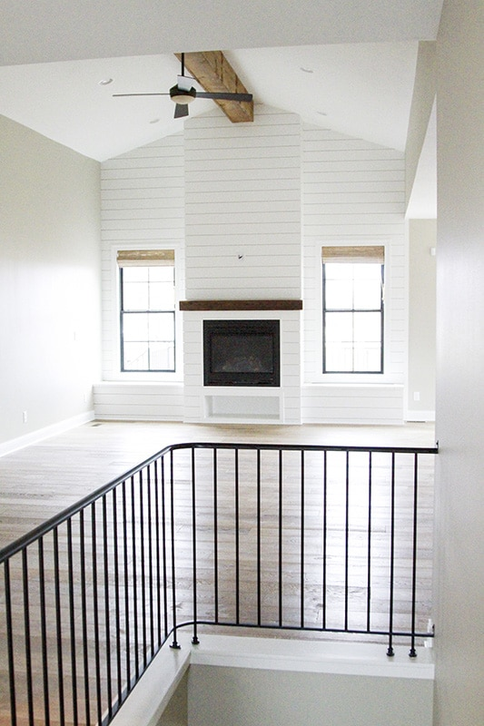 Oakstone homes modern farmhouse hallmark floors alta for Two story farmhouse oak park