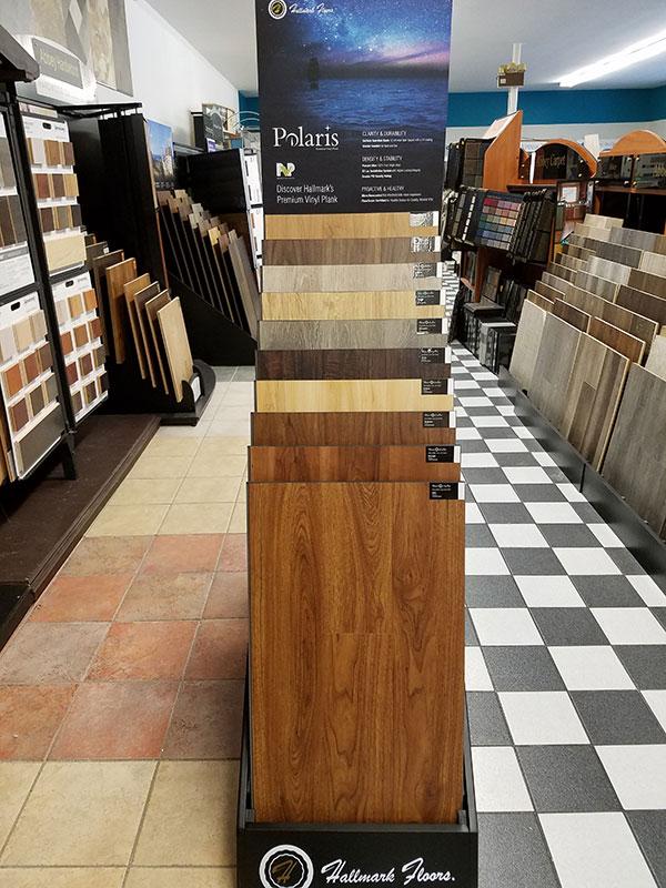 Hallmark Floors Polaris Display At Abbey Carpet Weymouth